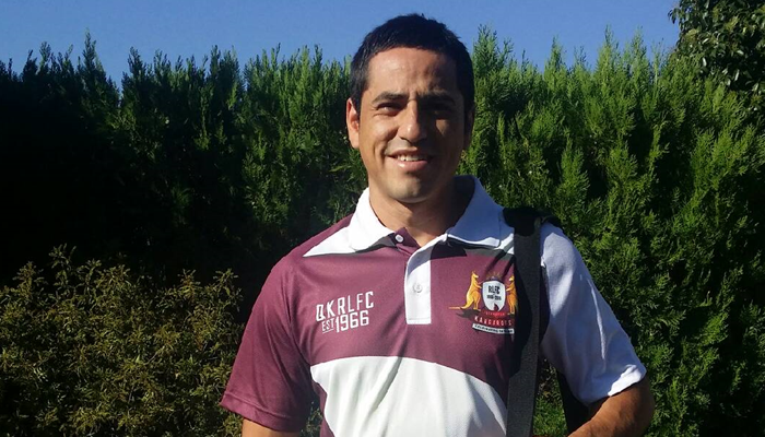 Chile Rugby League winger Jose Nitor-Alvear.