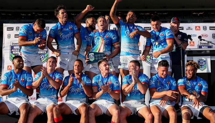 Sydney Roosters win NRL Auckland Nines 2017