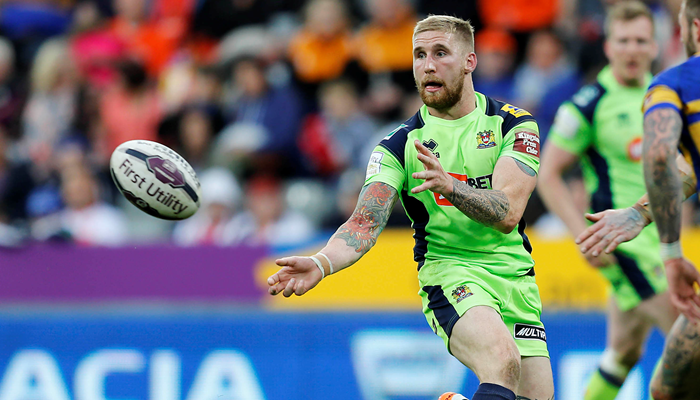 Sam Tomkins injury return