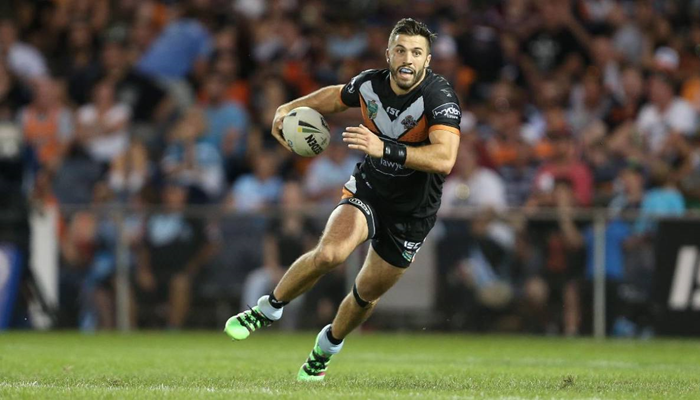 South Sydney Rabbitohs 18-34 Wests Tigers