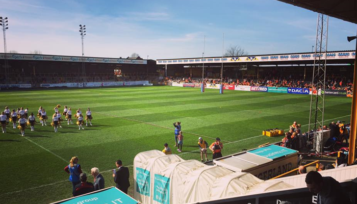 Castleford Expect New Stadium Move By 2020 Serious About