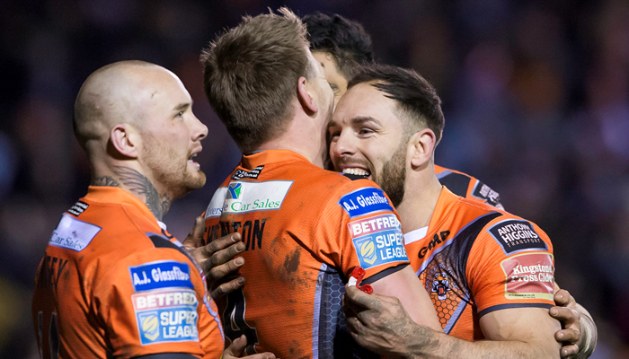 Castleford Tigers 54-4 Wigan Warriors