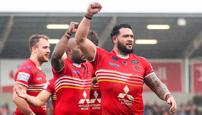 Salford Red Devils vs Widnes Vikings