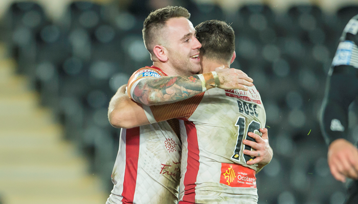 Catalans Dragons 38-6 Salford Red Devils