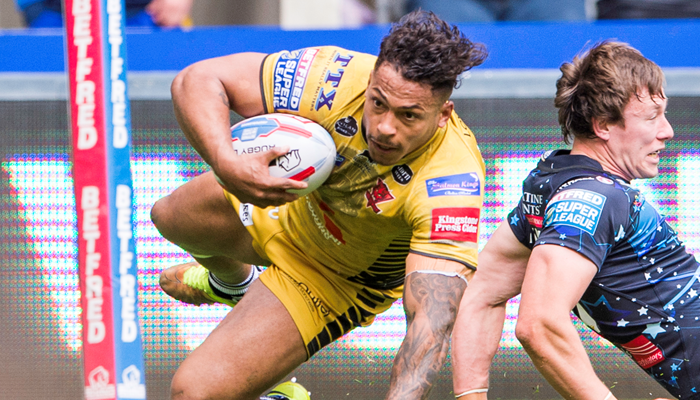 Leigh Centurions 22-36 Salford Red Devils