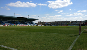 Featherstone search for fan who racially abused match official