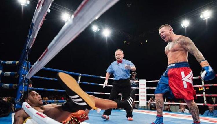 Throwback: Chris Sandow vs Todd Carney - Charity Fight Night 2016