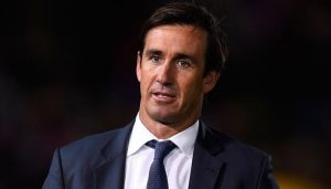 Andrew Johns being treated for seizures after collapsing