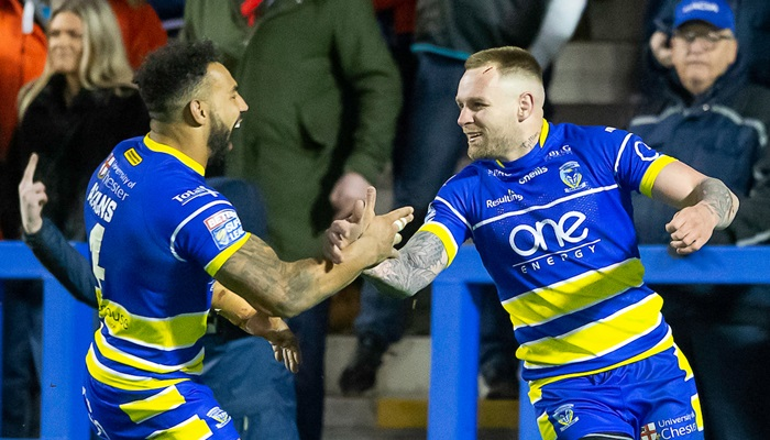 Warrington long odds on to make it 4 league defeats in a row for Wigan
