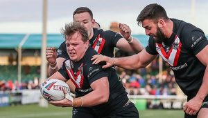 London Broncos win Twitter during match against Wakefield
