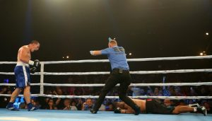 Paul Gallen continues perfect boxing record with brutal KO and sets sights on SBW