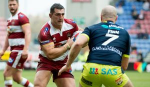 Wigan prop set to miss rest of the season