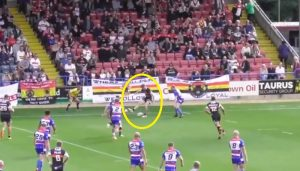 WATCH: Amazing back-heel assist for Bradford try