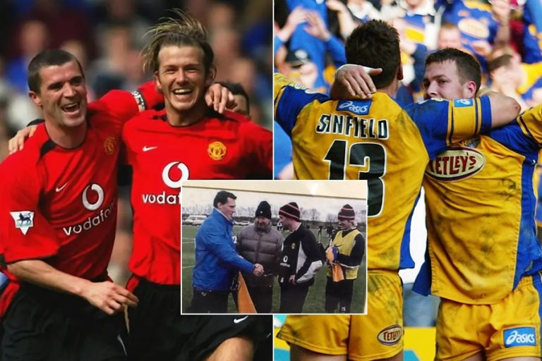 The incredible story behind Leeds Rhinos meet-up with Sir Alex Ferguson's Manchester United